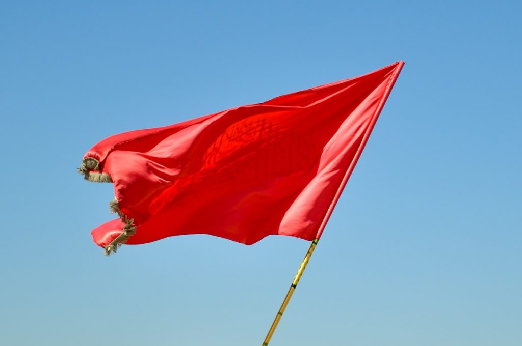 Recognising Red Flags